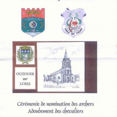 L' adoubement d' Ouzouer sur Loire 2012